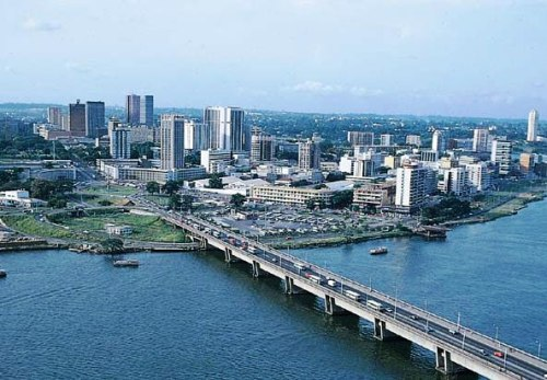 Abidjan, the capital city of Côte d'Ivoire (Ivory Coast), image by prepaidafrica, https://www.tumblr.com