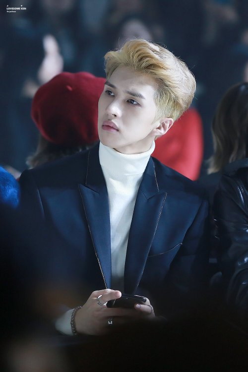 161020 Seoul Fashion Week 'Metrocity' LOVESOME KEN DO NOT EDIT