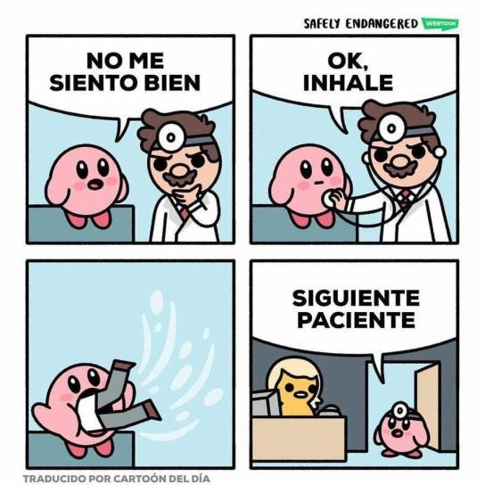 Kirby siempre encuentra trabajo