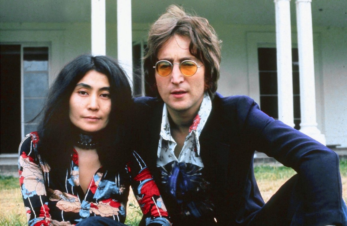 BLU Hippy Hippie anni 60 70 JOHN LENNON ROUND OZZY NONNA FANCY DRESS Occhiali Nuovo