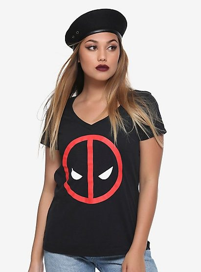 ac10e433 Deadpool fashion found at Hot Topic.