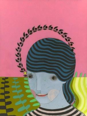 "jennifer davis art — Cultivate (acrylic/graphite/charcoal, 12x16"") 40..."