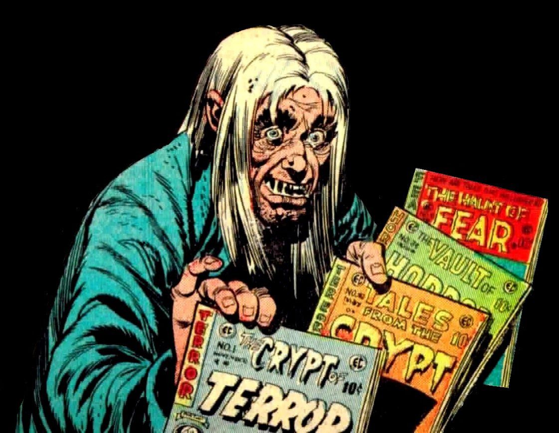 Image result for ec comics crypt keeper