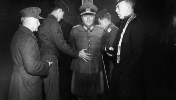 3ea7dc78cbc1d Wermacht General Anton Dostler being tied to a… – History
