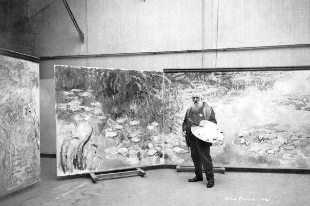 519ea02917112 22 amazing photographs of Claude Monet in his studio and his ...