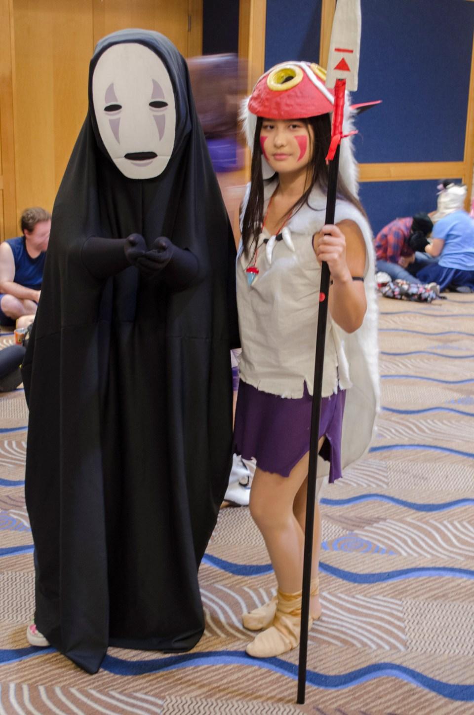 Metrocon 2016: Princess Mononoke and No Face
