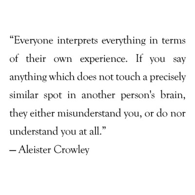 Aleister Crowley Quotes Tumblr