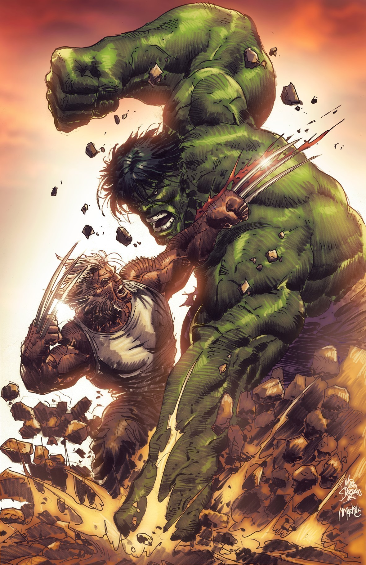 by Mike Deodato Jr  &