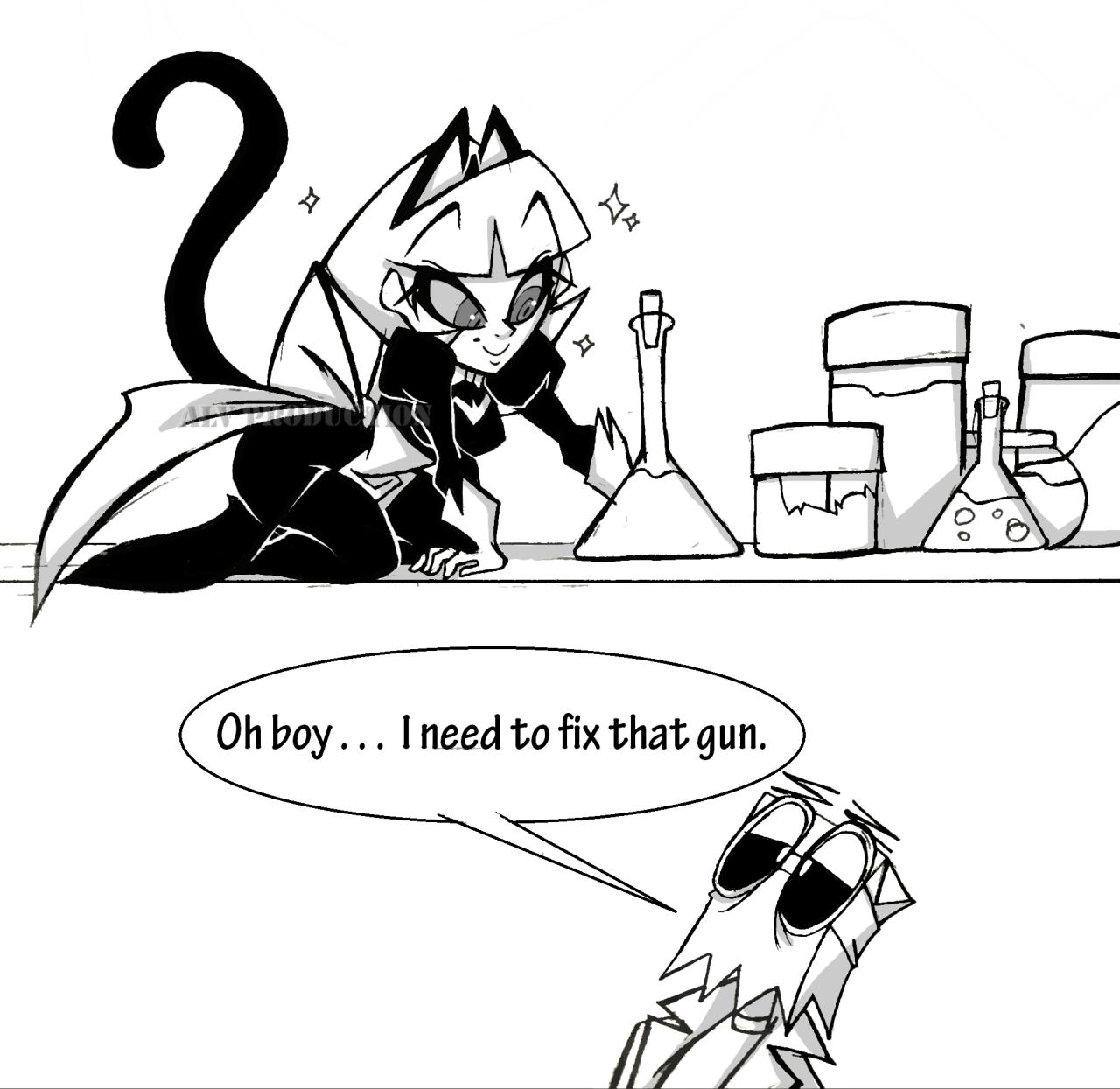 Red Cat Post