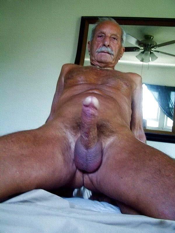 Gay Grandpa Big Dick