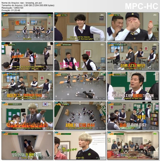 SHINee – Knowing Bros/Ask Us Anything (legendado) – PT/BR