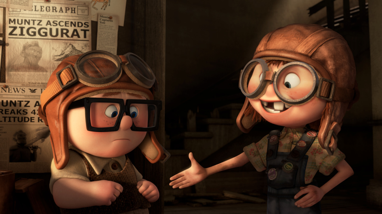 Pixar Up Animation 3D