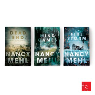 inside | faceout — Three book series with author, Nancy Mehl. Mind...