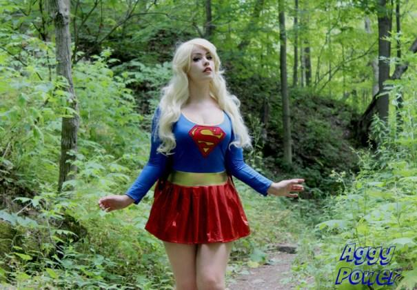 Supergirl  Nerdy Girls Nude-2570