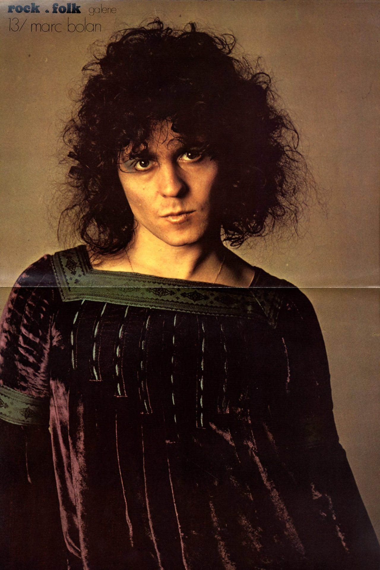 electripipedream: Marc Bolan poster from Rock … – Glamrock