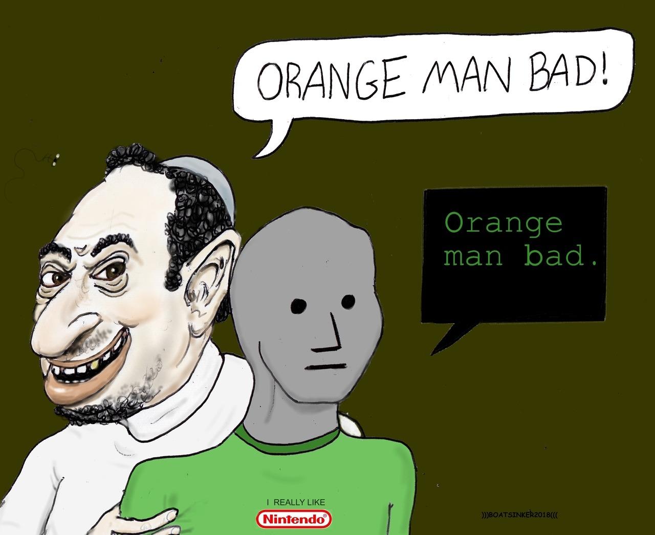 ORANGE MAN BAD? | VikingLifeBlog