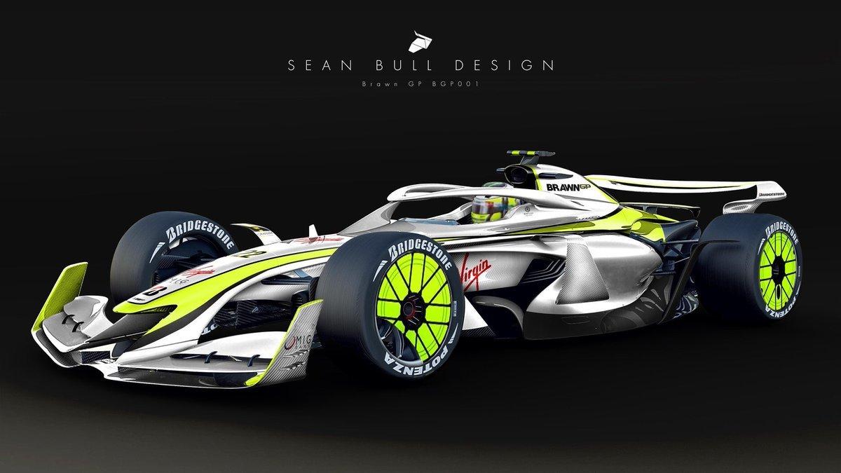 682b96fc Brawn GP livery on 2021 concept car https://if… – Formula 1