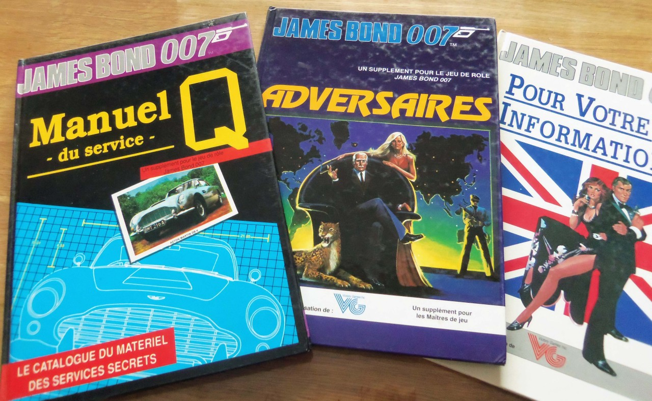 les manuels de James Bond 007
