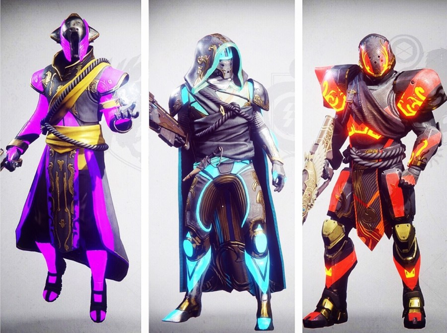Eyes Up, Guardian — Solstice armor for all theee ...