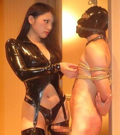 Cruel asian mistress