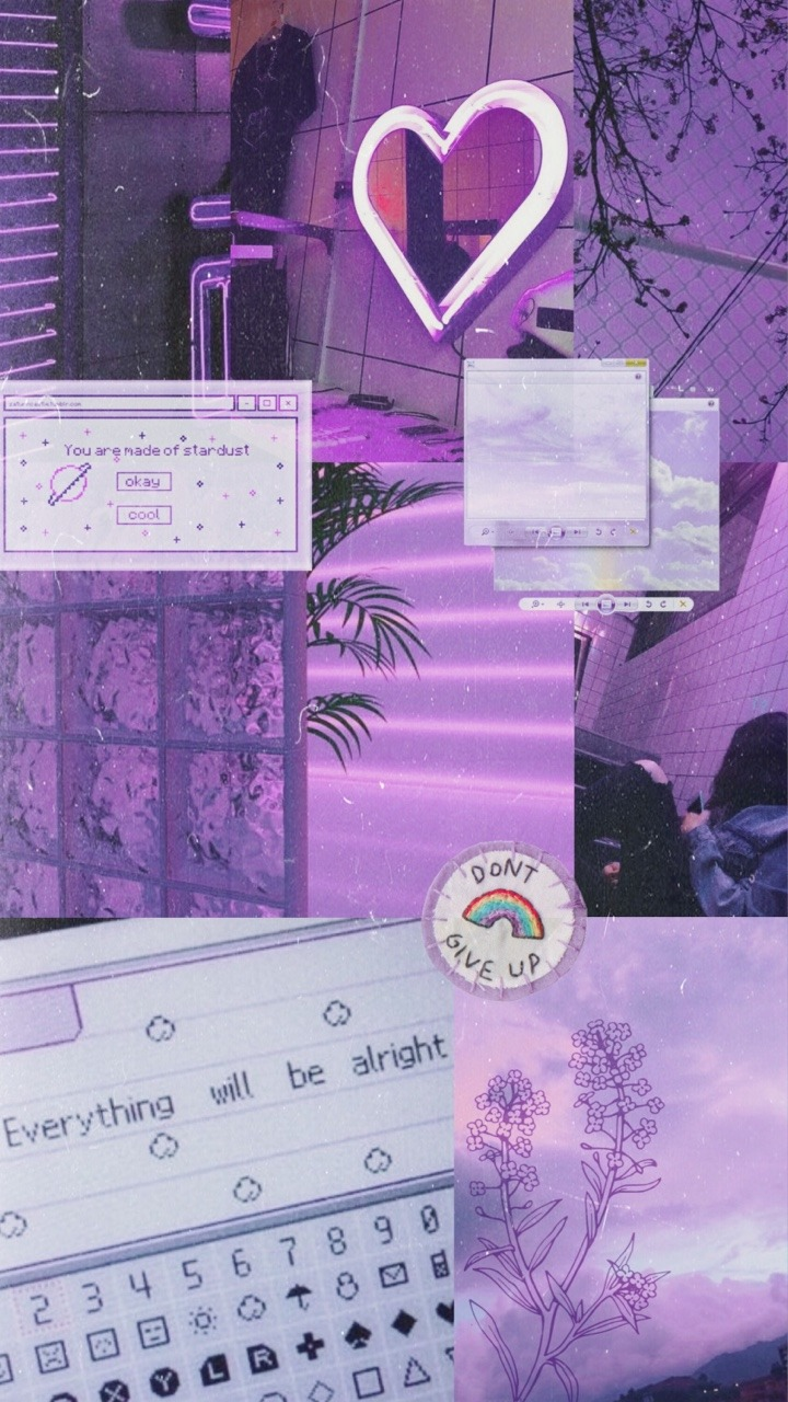 Wallpaper Tumblr Purple Wallpaper Tumblr Gambar Aesthetic Novocom Top