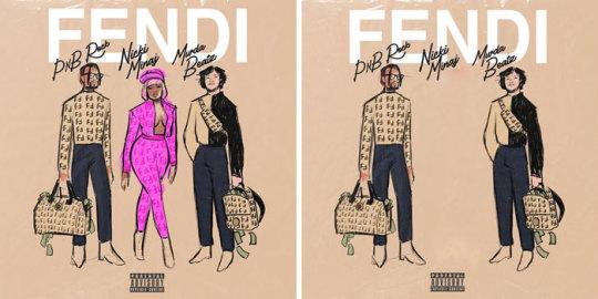Pnb Rock, Nicki Minaj, Murda Beatz - Fendi