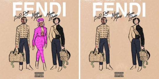 Pnb Rock, Nicki Minaj, Murda Beatz - Fendi
