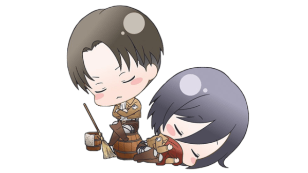 humanity's strongest pair, ackerslave: Levi & Mikasa ...