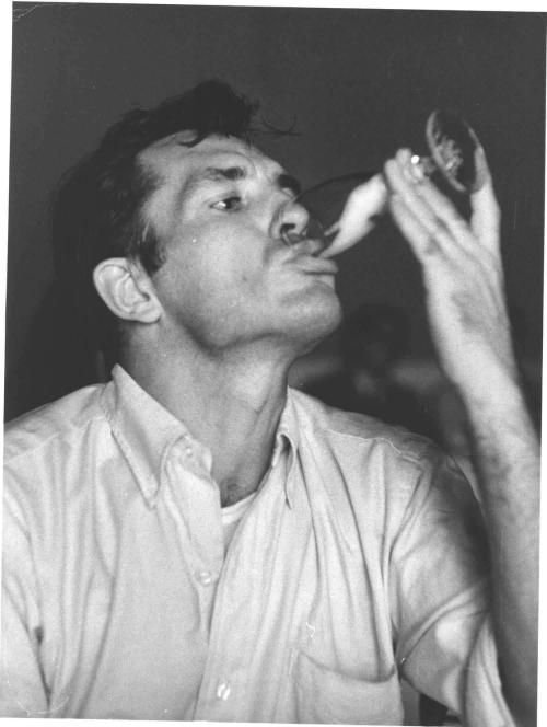 Image result for jack kerouac drunk