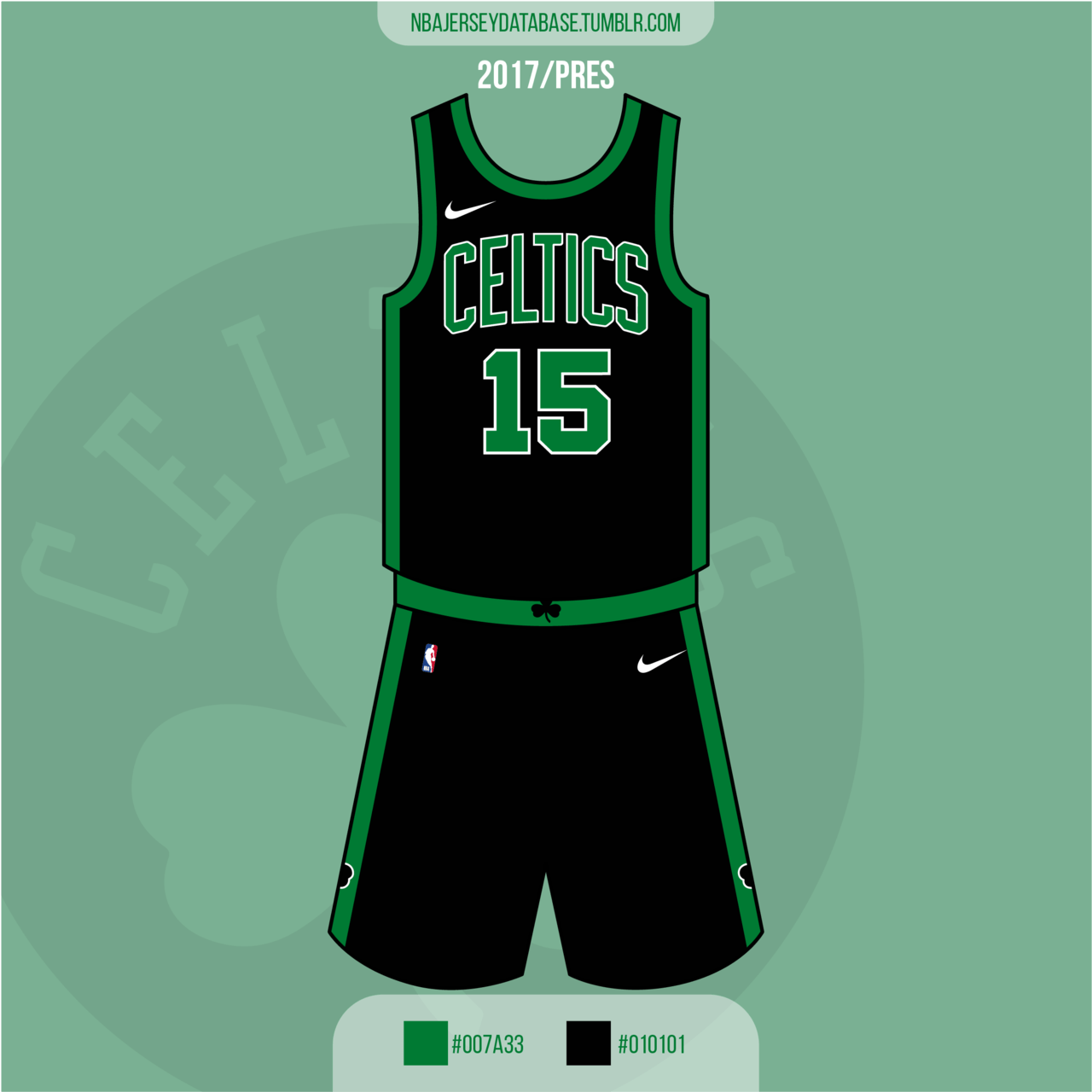 Boston Celtics Statement Jersey 2017-Present
