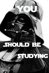 Darth Vader says You Should Be Studying