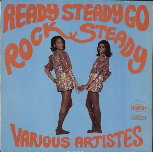 Various-Reggae & Ska Ready Steady Go Rock Steady vinyl LP album (LP record) UK V-ALPRE731551