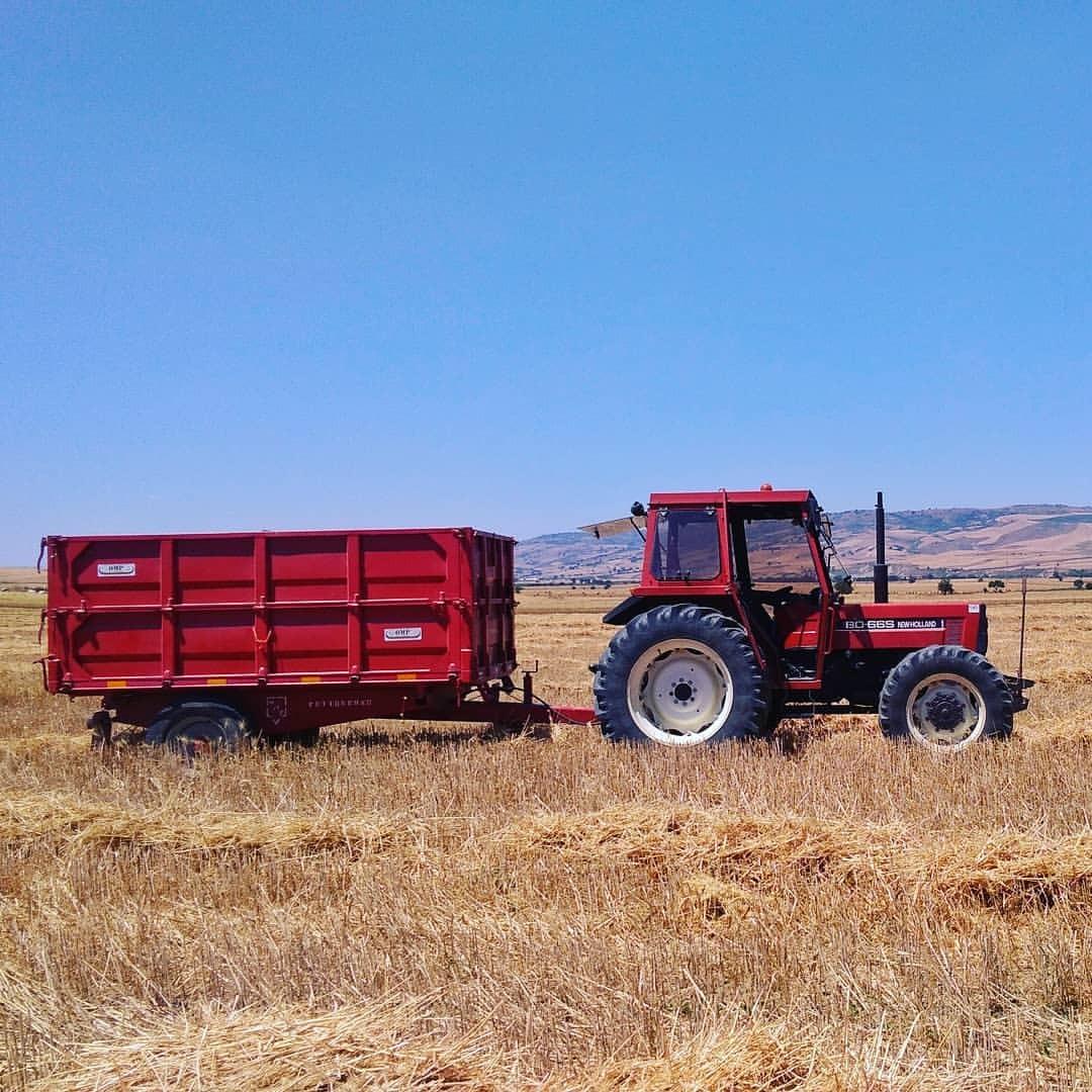 #basilicata #lucania #mietitura #grano #wheat #tractor #machine #agriculture #machinery #farm #trailer #vehicle #industry...