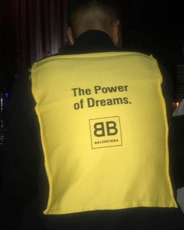 77261949 Last night while enjoying great music and great energy… I had the great  pleasure of seeing the back of this mans jacket, it brought me great joy  because as ...
