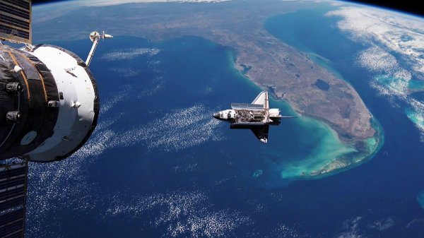 chip in Fla extraordinaryearth The Space Shuttle over