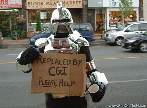 Image result for cylon replaced by cgi