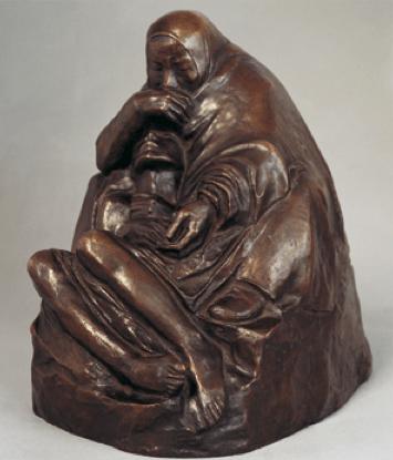 "cavetocanvas: ""Pietà - Käthe Kollwitz, 1937-38 """