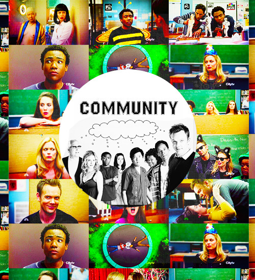 """drake-ramoray: """" 10 Currently airing shows # Community. """""""