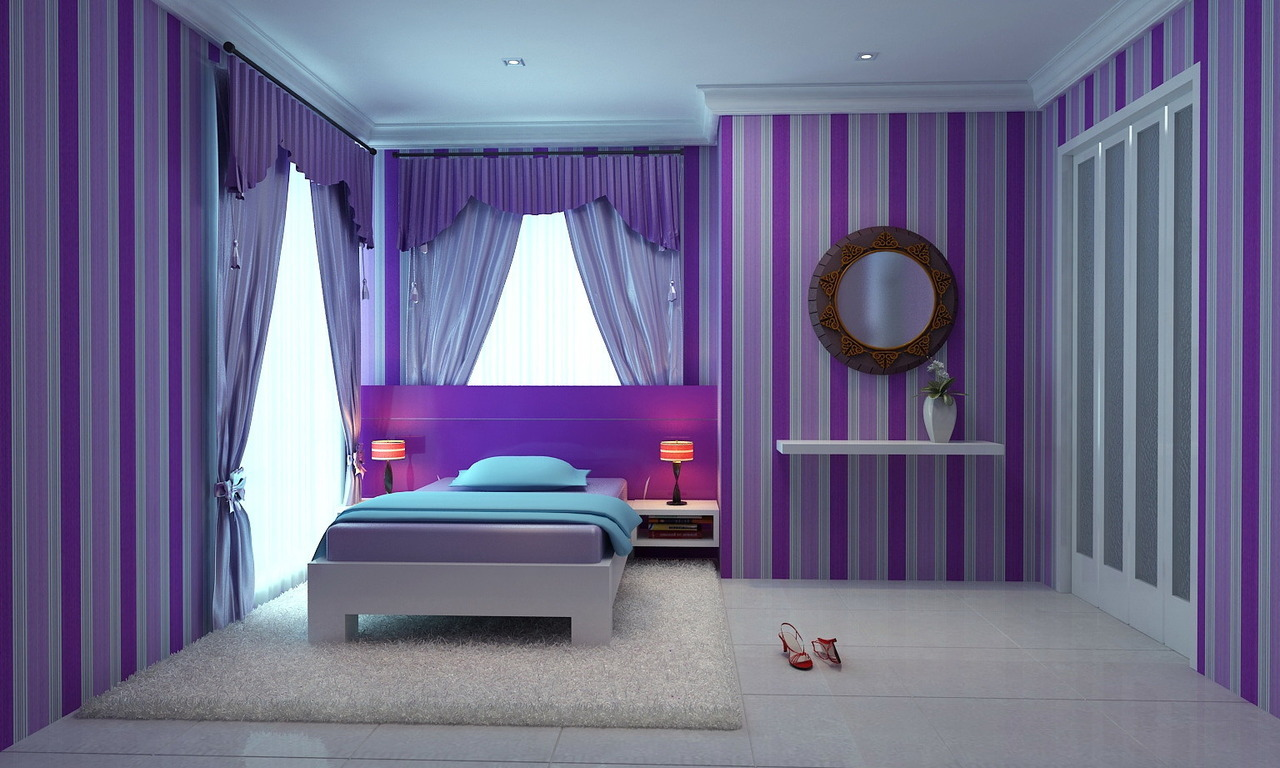 ambience-consultant • CUTE PINK AND PURPLE GIRLS' BEDROOMS ... on Simple But Cute Room Ideas  id=63863