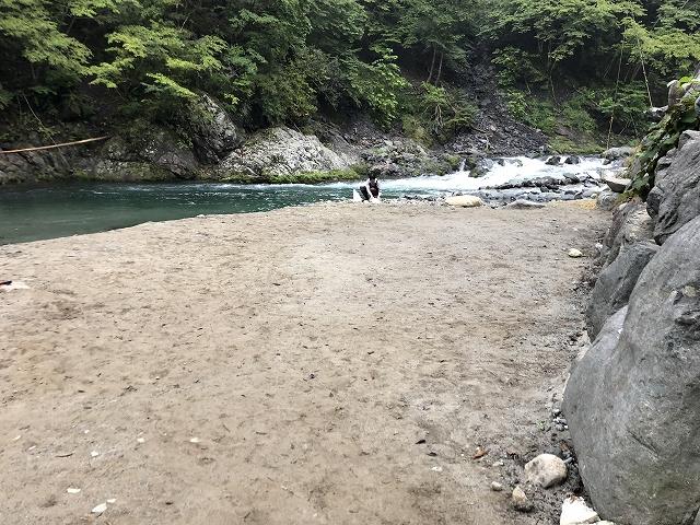 久保キャンプ場河原サイト