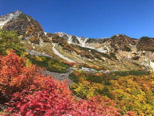 紅葉の涸沢カールでテント泊登山【上高地から行く涸沢カール】