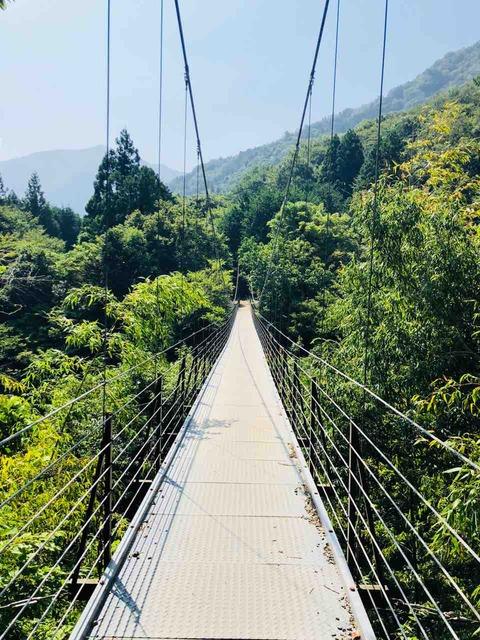 久保の吊り橋