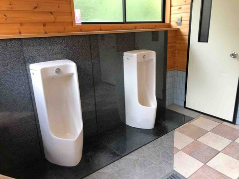 道志の森キャンプ場トイレ