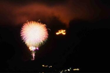 箱根強羅夏祭り大文字焼に行ってきました 【意外にも車でも混雑なし】