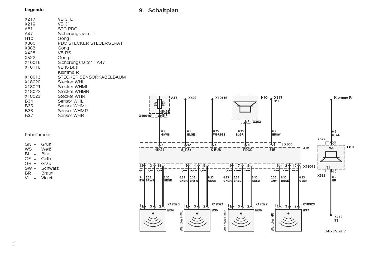 Diagram Bmw E46 Pdc Wiring Diagram Full Version Hd