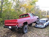 Chev V With 6 Lift 35 Tires