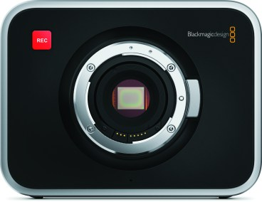 Blackmagic Cinema Camera EF Mount Front
