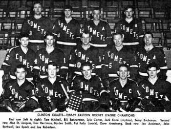 1968-69 Clinton Comets
