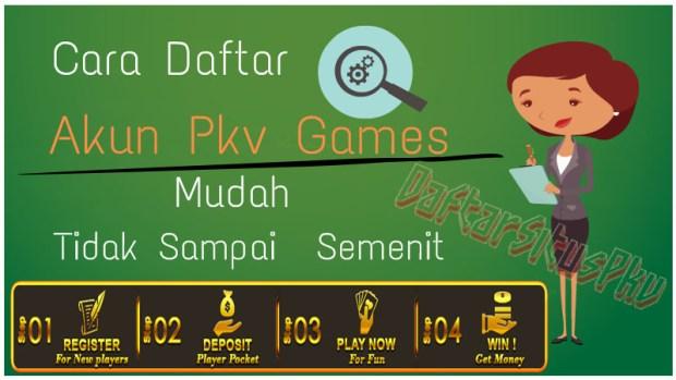 Cara Daftar Akun Poker Pkv Games Online