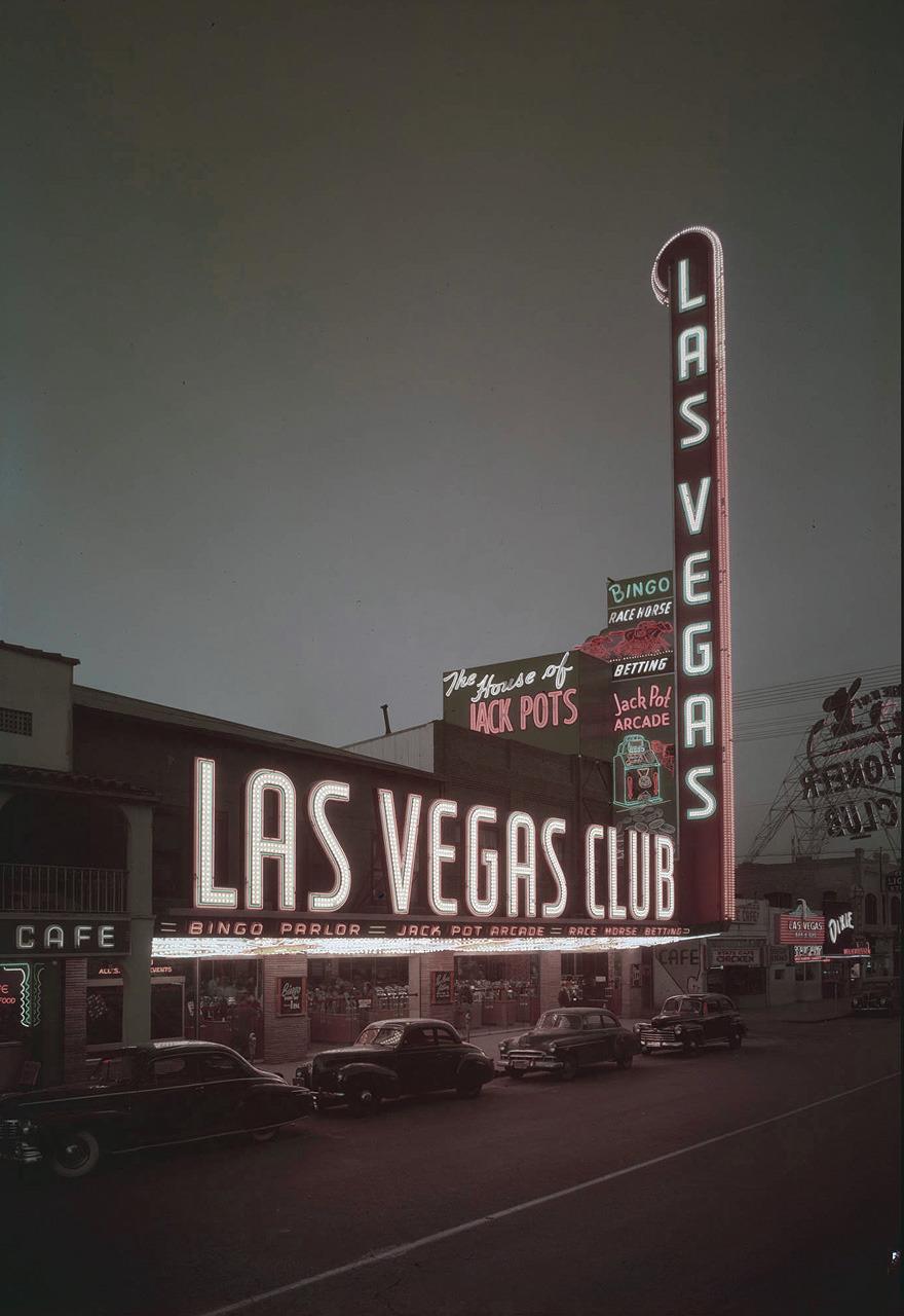 Las Vegas Club - Las Vegas, Nevada U.S.A. - 1949